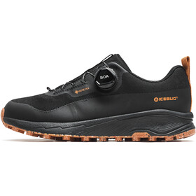 Icebug NewRun RB9 GTX Running Shoes Men, black/maple